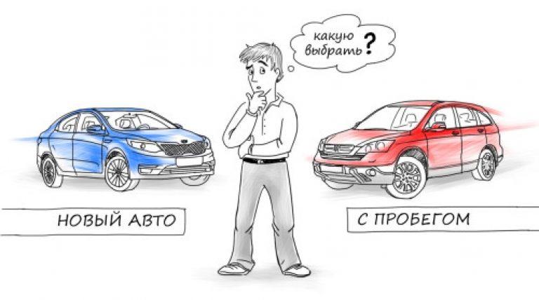Бу или новое авто