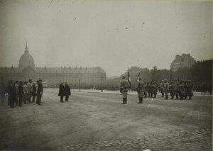 1915. Эспланада Инвалидов. Президент присутствует на каком-то мероприятии. Сентябрь