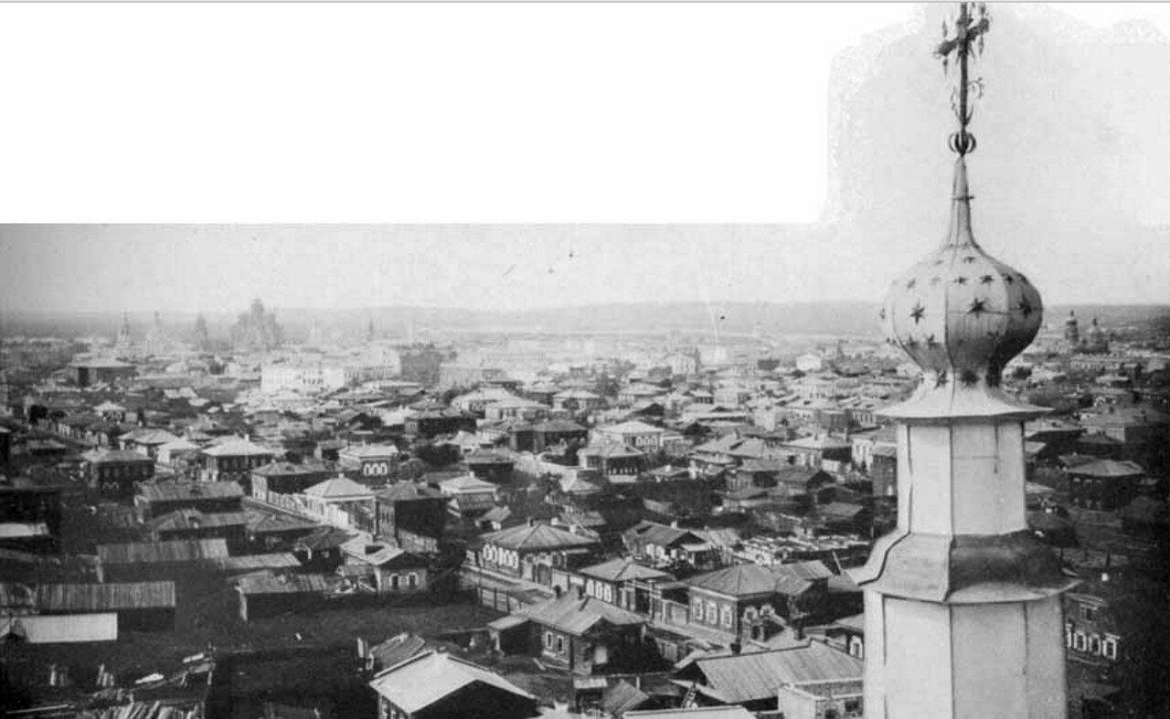 54. Панораме города Иркутска (правая часть)