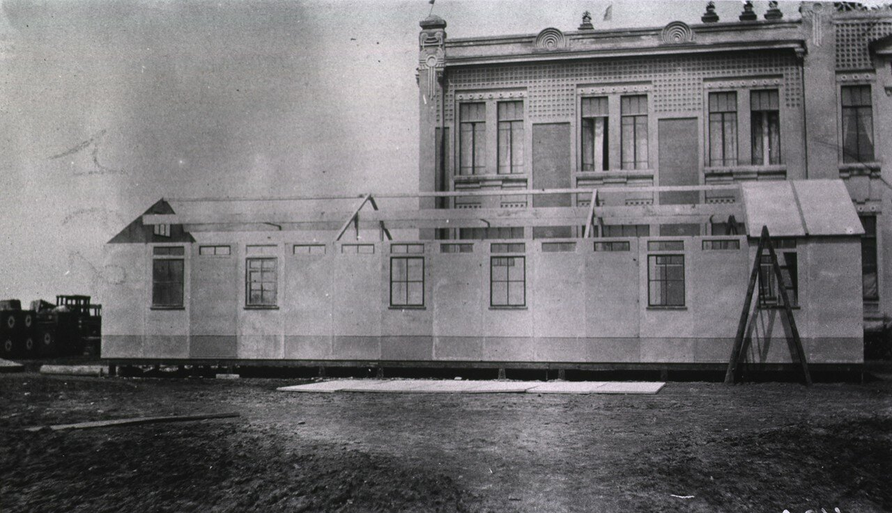 Здание лазарета