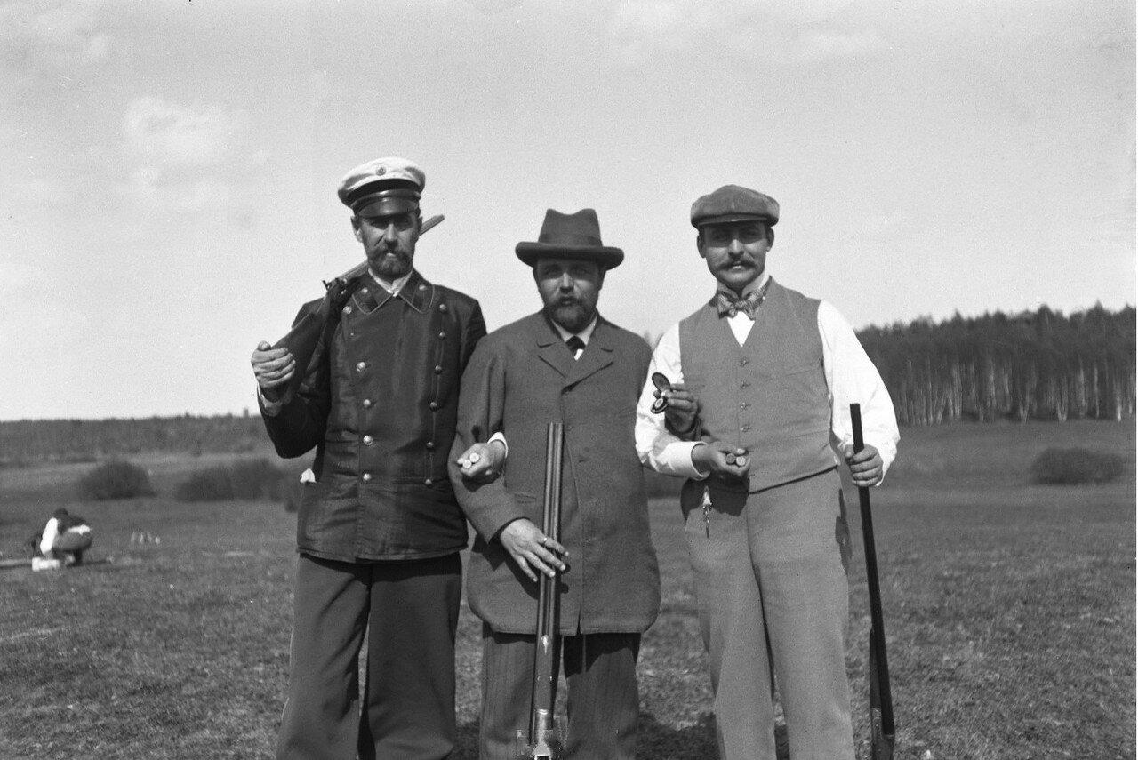 1897. Химка (Московская губерния). После соревнований по стендовой стрельбе