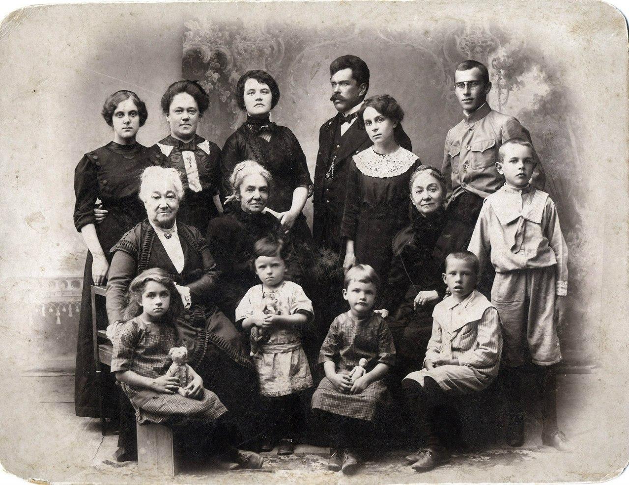 Семья Раковых