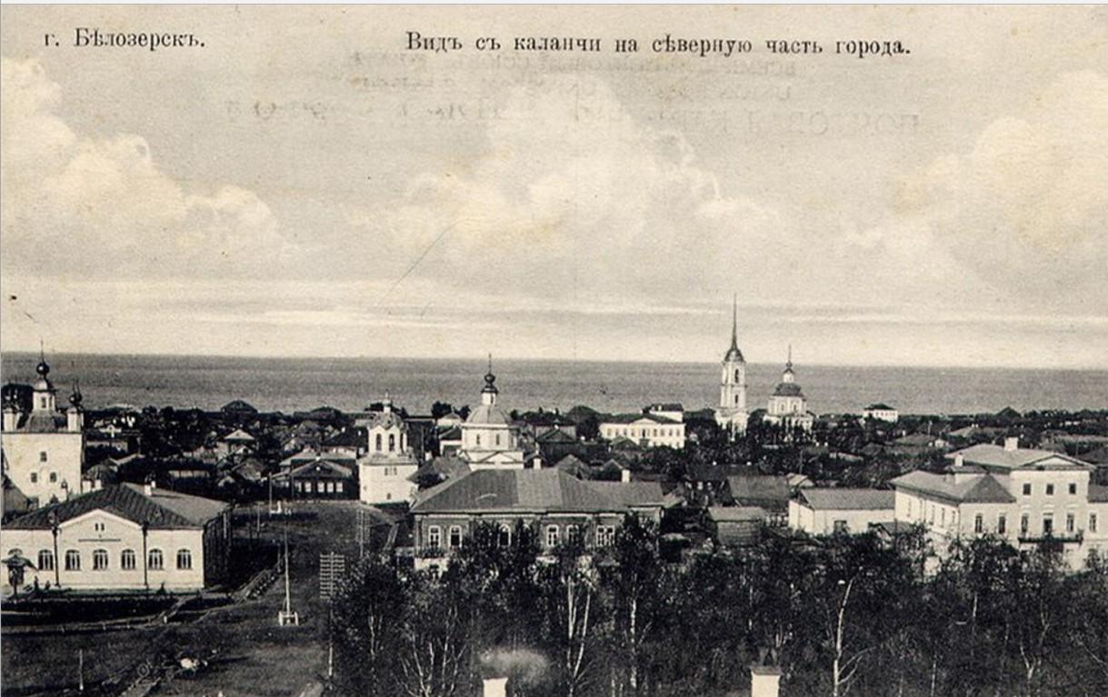 Вид с каланчи на северную часть города