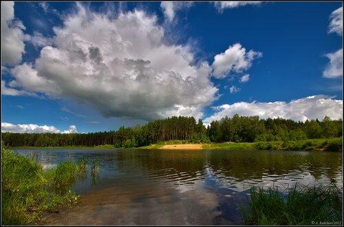 Лесное озеро...