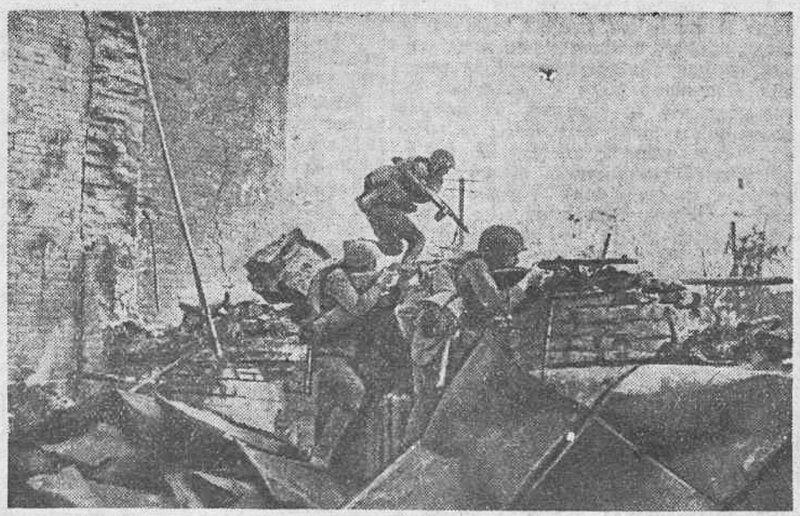 Сталинградская битва, сталинградская наука, битва за Сталинград, «Красная звезда», 25 октября 1942 года
