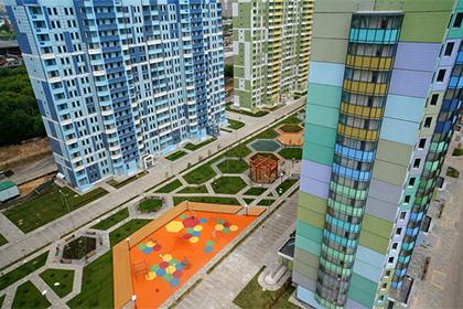 В Подмосковье запущенно производство панельных зданий нового поколения