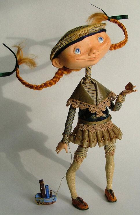 Кукла из пластика своими руками фото