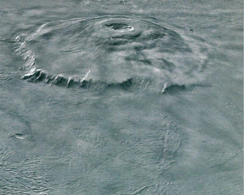 Олимп. Самая высокая гора Солнечной системы