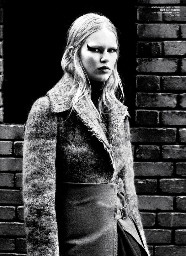 Анна Эверс (Anna Ewers) в журнале V Magazine