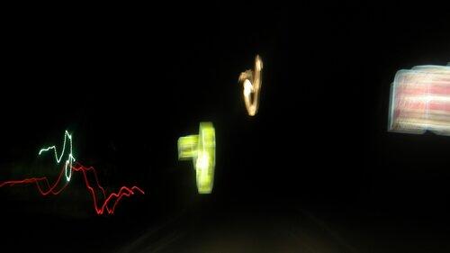 Ночь. свет