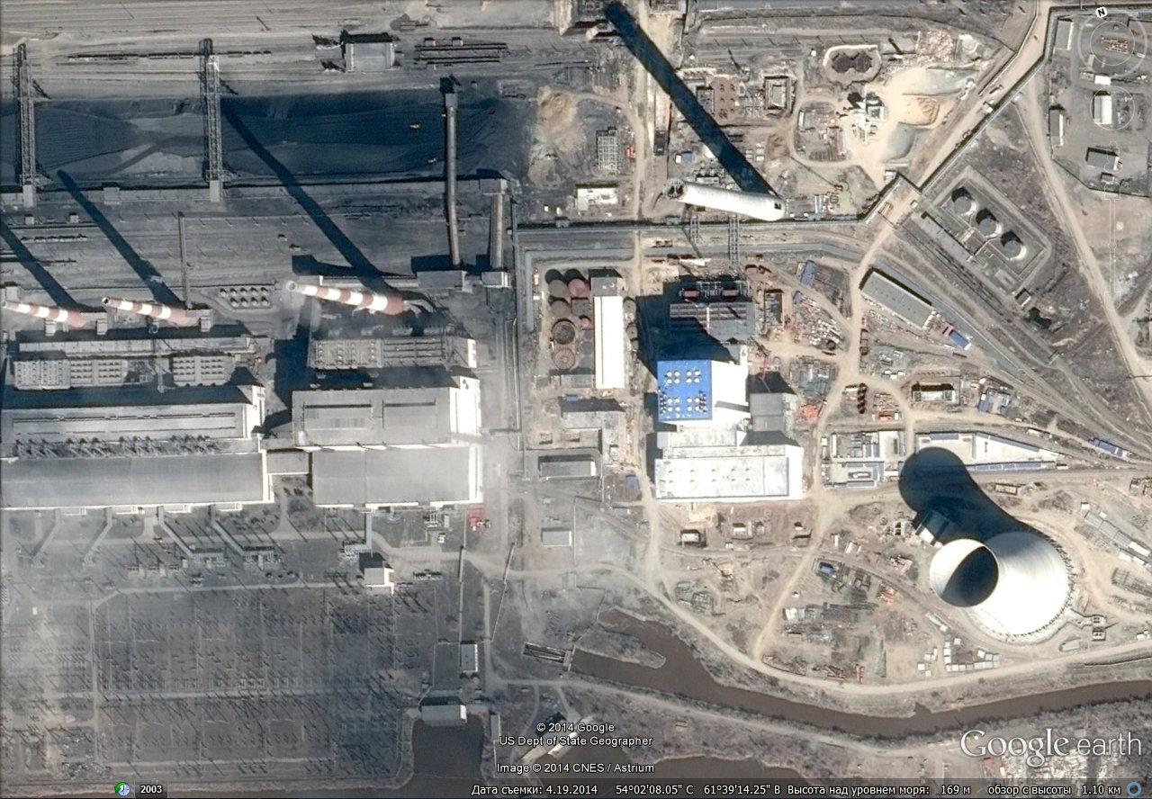 Троицк обновился на спутниковых снимках Google