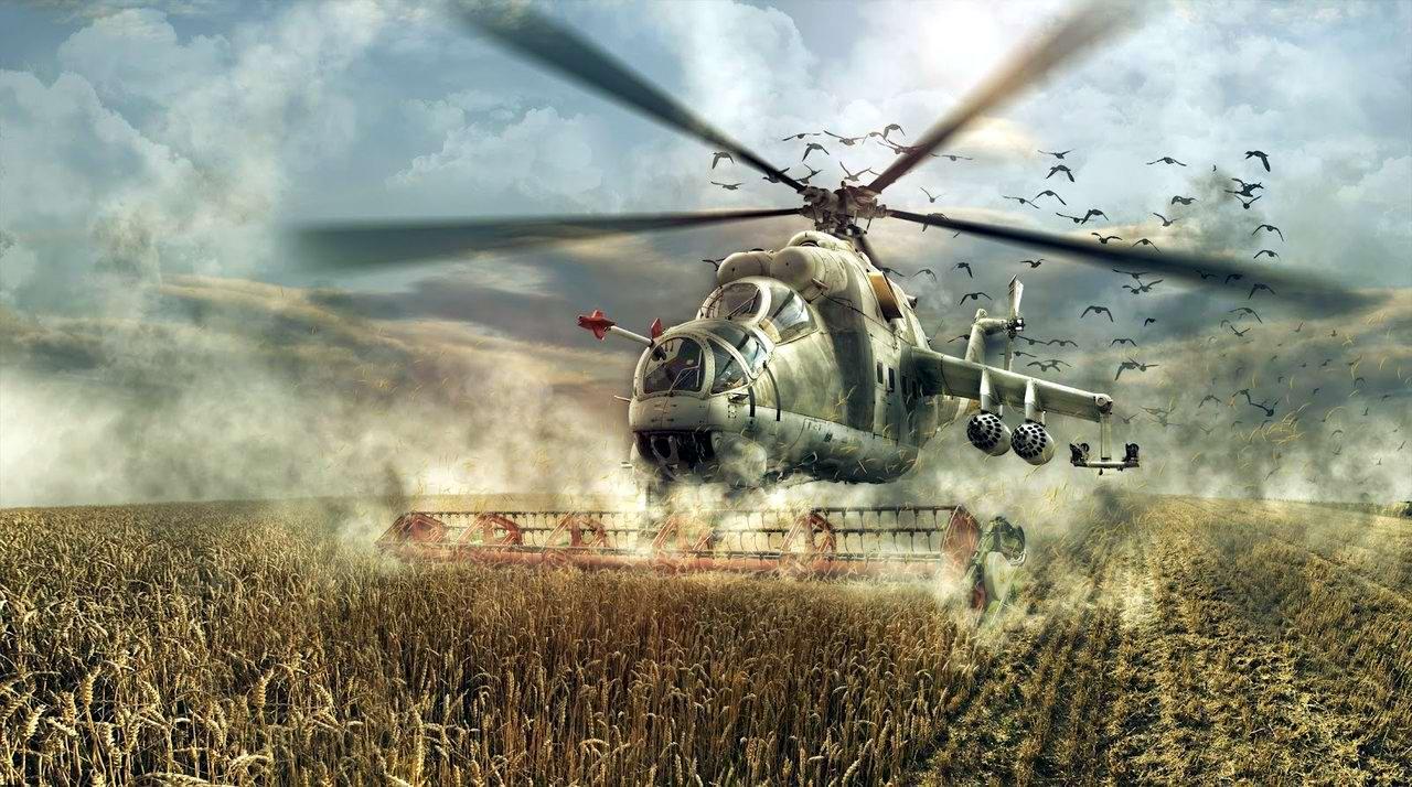 Вертолеты Ми-24: советские комбайны с вертикальным взлетом (1)
