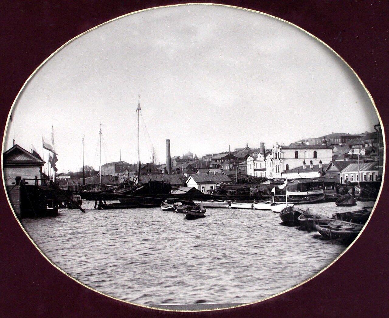 02. Вид юго-западной части города со стороны Волги