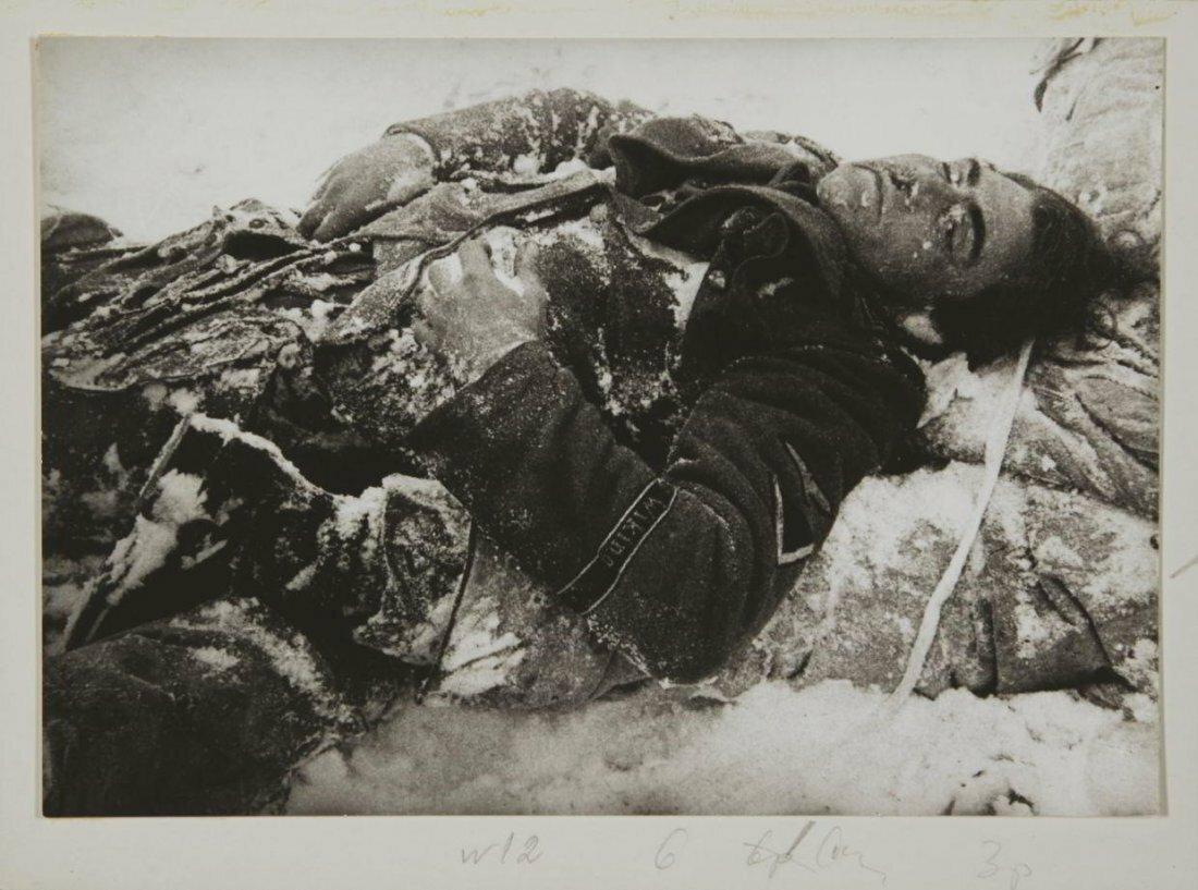 1941-1945. Галина Захаровна Санько. Павший солдат
