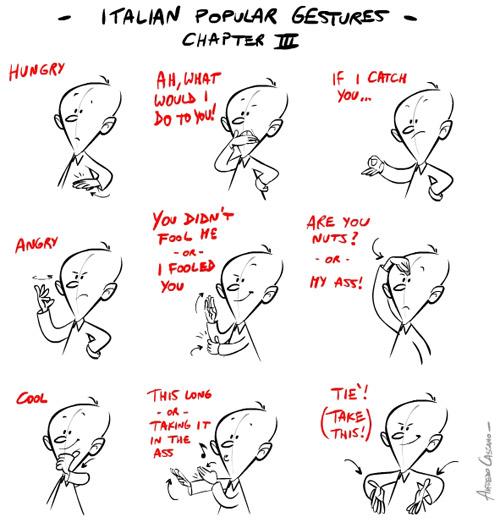 Учим итальянский за три урока. Язык жестов, понятный без слов