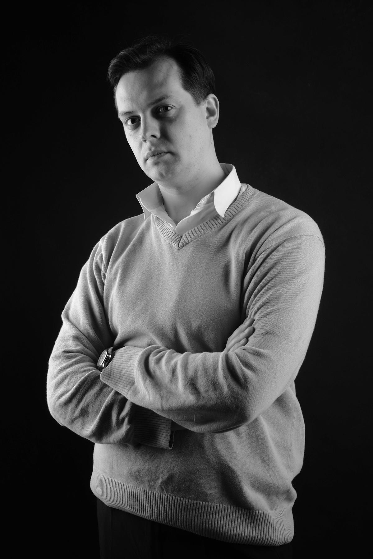 мужской портрет: красивые фотографии мужчин в студии. Черно-белые фотографии