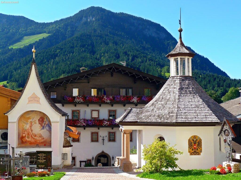 Часовня церкви. Сёлль. Тироль. Австрия.
