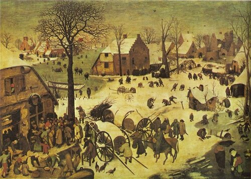 Pieter Bruegel the Elder: Census at Bethlehem