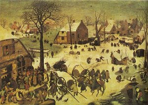 Pieter Bruegel the Elder: Census at Bethlehem
