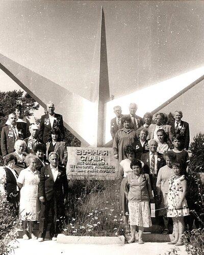 Памятник летчикам в Ууксе