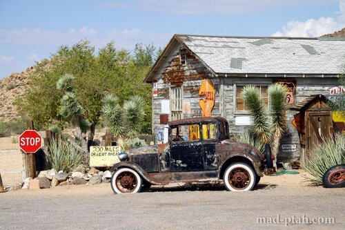 раритетные автомобили, сша, аризона, невада, калифорния, музей, дорога 66, route 66