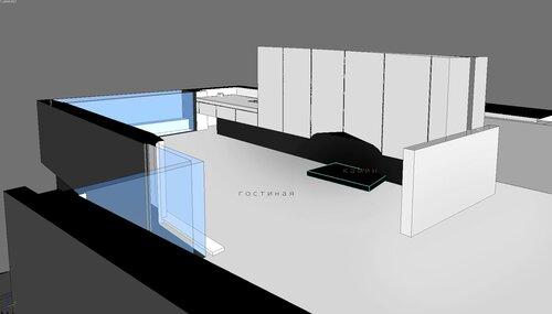 Фокусной точкой пространства первого этажа послужит камин в стиле Мис Ван де Рое, встроенного в стенной шкаф. Дом особняк, благоустроенный дом коттедж. Благовещенка Пятницкое 12 -30 015 гостиная каминная, балкон , кухня столовая