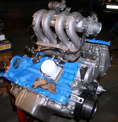 на двигателе ЗМЗ 406