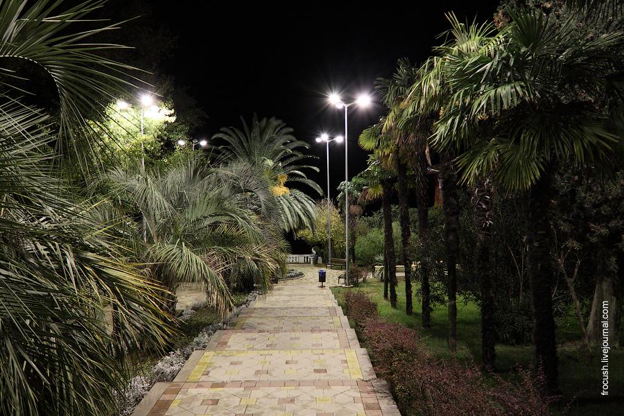 Парк санатория «Черноморье»
