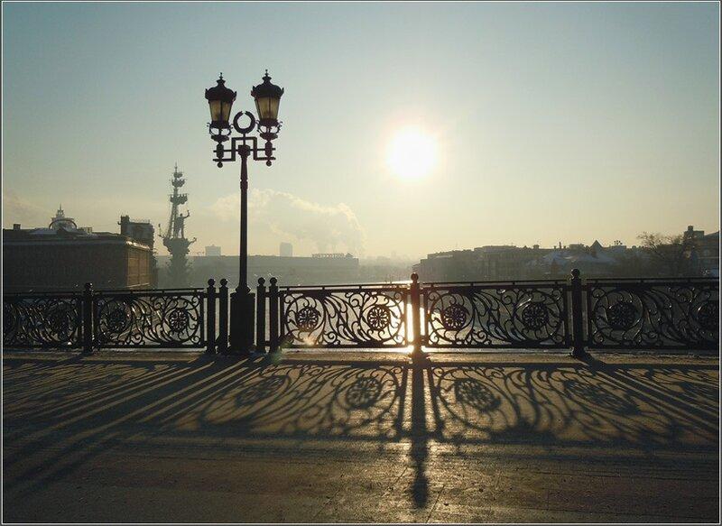 Декабрьское кружево Москвы