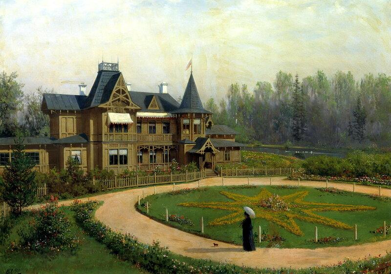 ЛЕВ ЛАГОРИО. Дача. 1892