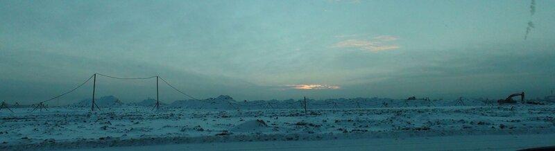 Панорама на восход от участка №193