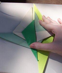 Оригами спираль
