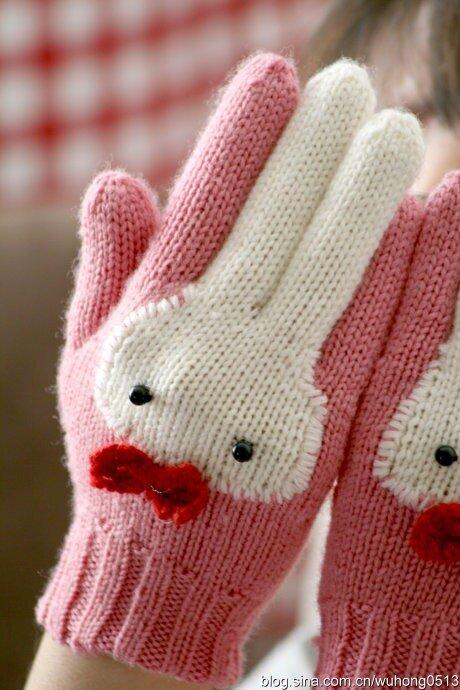 перчатки - встретим Год белого