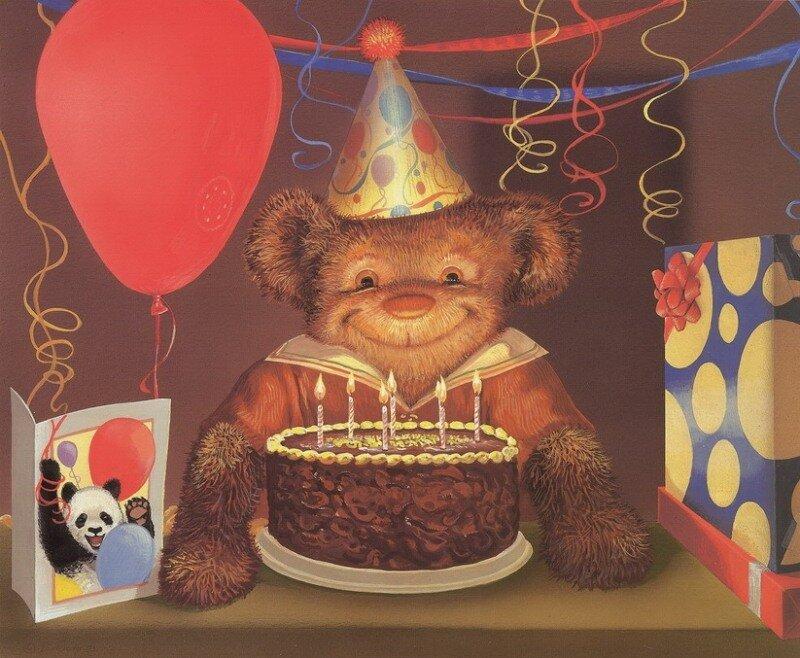 Вмф открыткой, медведь с открыток