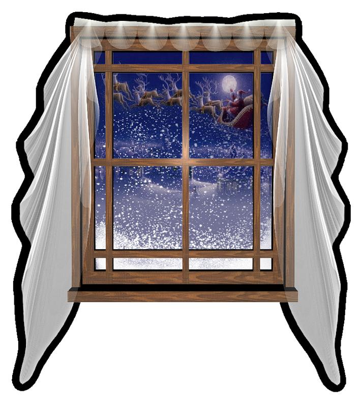 яркие картинка анимация зима в открытом окне раскладывания очень прост