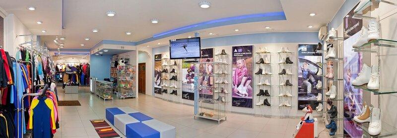 Лучший  в Европе профессиональный магазин для фигурного катания компании Twizzle (Москва)