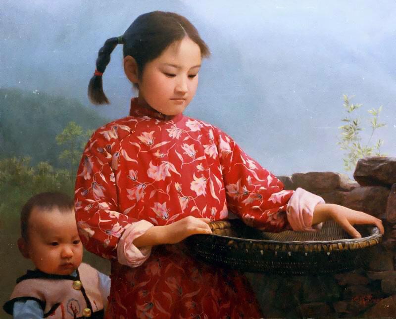 фото картин китайских художников среднемесячной заработной