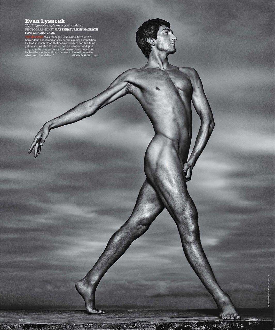 Эван Лысачек / Evan Lysacek - ESPN Magazine Body Issue 18 october 2010