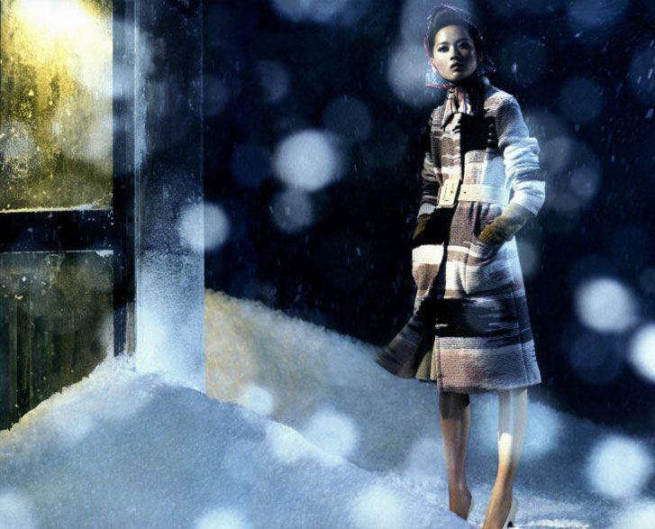 модель Хье Парк / Hye Park, фотограф Laurie Bartley