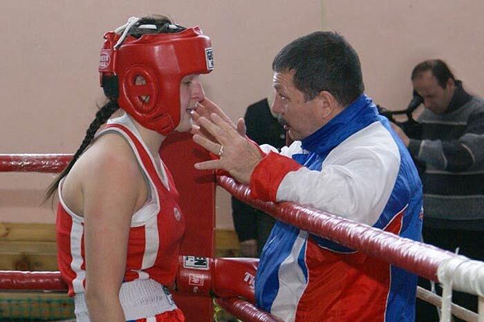 Чемпионат по боксу среди женщин. г. Находка Приморского края