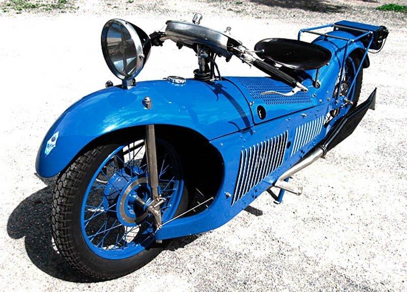 Motorcycles 1929 Majestic.Франция