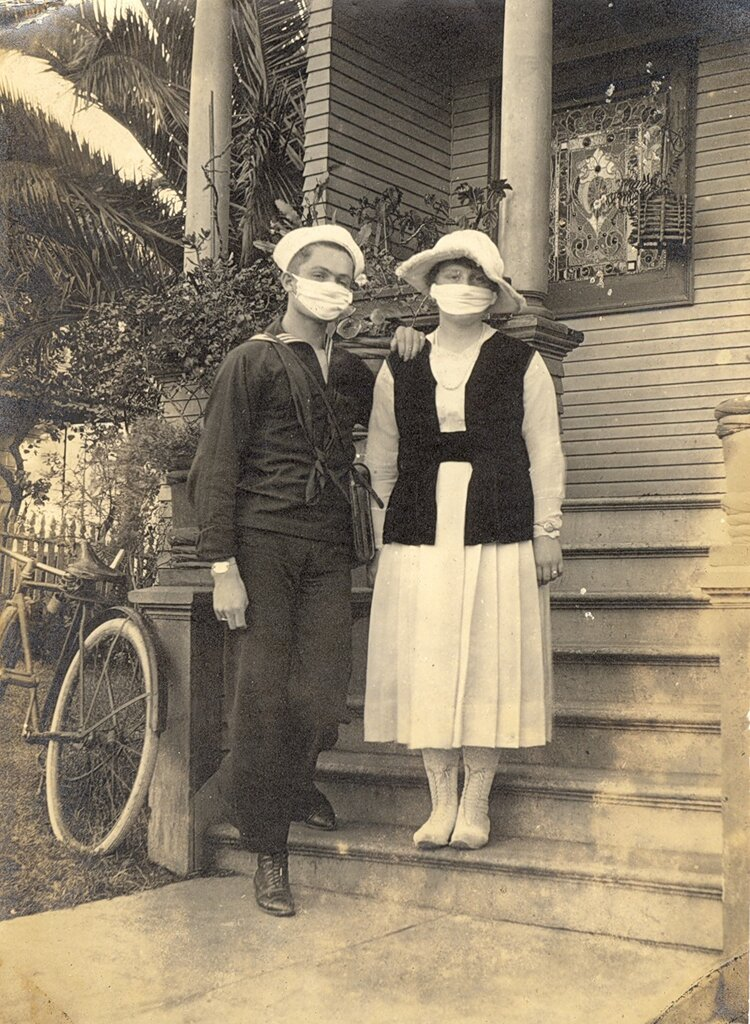 1918  во вркемя эпидемии гриппа