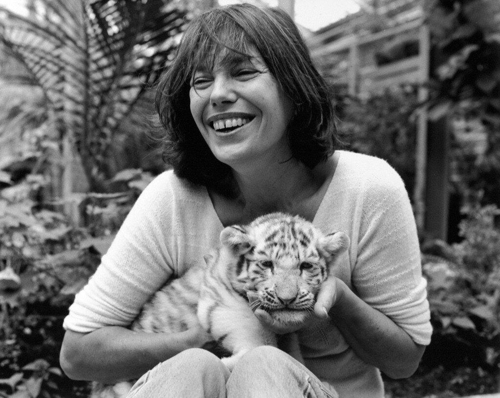 1997: Jane Birkin at the zoo