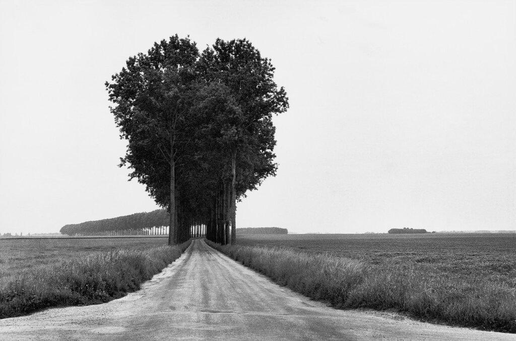 Henri Cartier-Bresson FRANCE. Brie. 1968