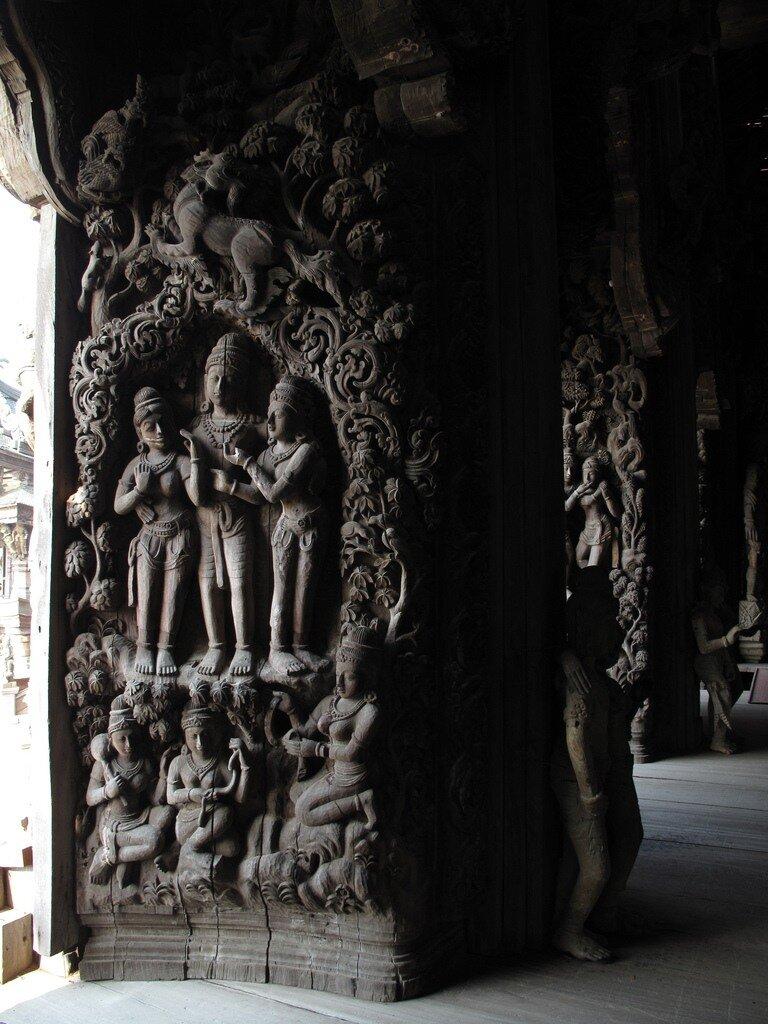 Prasat Sanctuary of Truth, Pattaya, Thailand