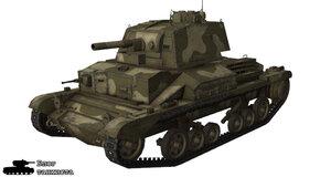 Шкурка для танка A10 Cruiser Mk. II