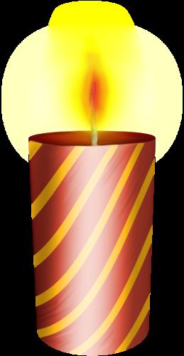 Горящая свеча картинка 4