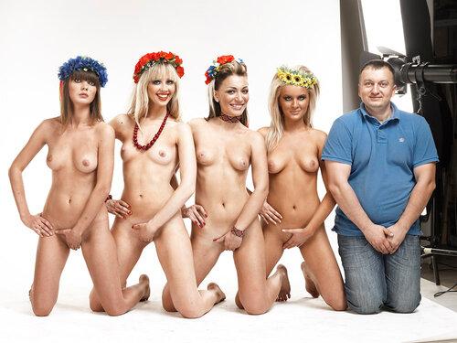 феминистки фото голые