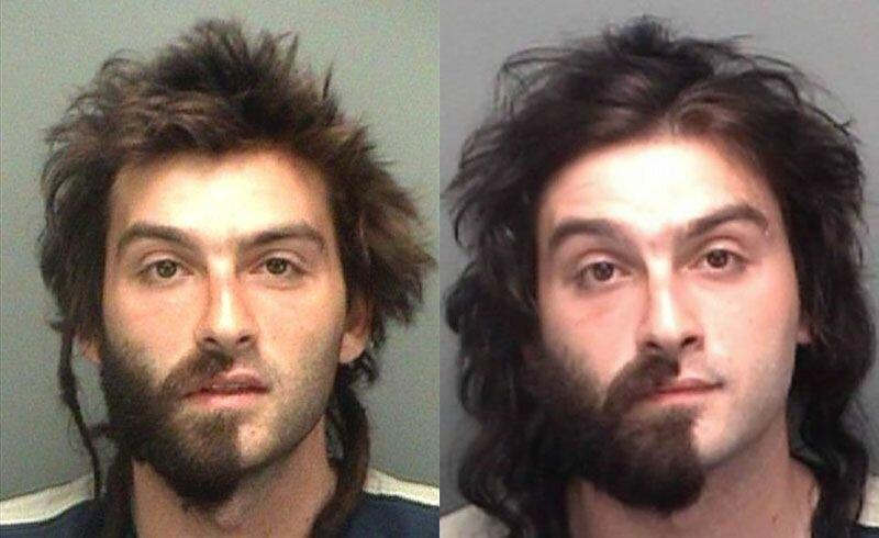 Лучшие фотографии арестованных из США
