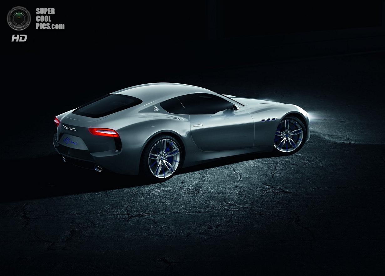 Концепт-кар в честь 100-летия Maserati (11 фото)